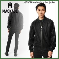 20AW◆Mackage◆KELVIN leather bomber jacket