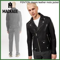 20AW◆Mackage◆FENTON classic leather moto jacket