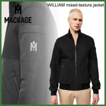 20AW◆Mackage◆WILLIAM mixed-texture jacket