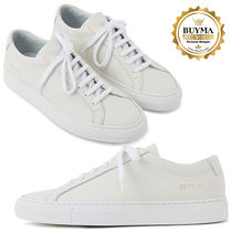 Common Projects (コモンプロジェクト) スニーカー 【関税補償】COMMON PROJECTS☆Achilles Low ホワイトスニーカー