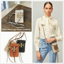 完売色 TORY BURCH★Miller Metal Logo Phone Crossbody