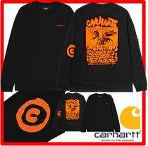 韓国の人気★CARHARTT★L/S INTERNATIONAL OPERATIONS T-SHIR.T