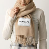 MONCLER マフラー 3C71000 A146 SCIARPA ロゴ ウール