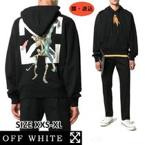 ☆NEW☆【Off-White】スケルトン プリントパーカー208OW☆31