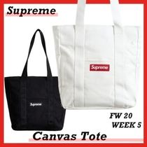 Supreme Canvas Tote トート FW 20 WEEK 5