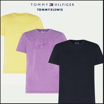 【TOMMY  HAMILTON】GARMENT DYED RELAXED T-SHIRT