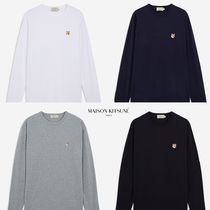 MAISON KITSUNE◆FOX HEAD PATCH REGULAR LONG-SLEEVED T-SHIRT