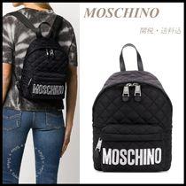 【Moschino】Quilted Nylon Backpack 関税/送料込