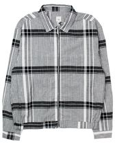 River Island Check Zip Shirt Jacket 薄手のジャケット