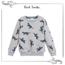 Paul Smith Junior Boy Cotton THOMPSONスウェットシャツ