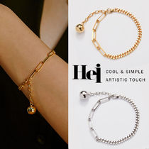 韓国発【Hei】mix chain ball bracelet☆追跡付
