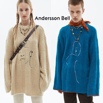 ANDERSSON BELL★OVERSIZED EMBROIDERY SWEATER★日本未入荷