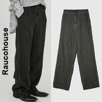 Raucohouse(ラウコハウス)★ Vintage Mood Deep Denim Slacks