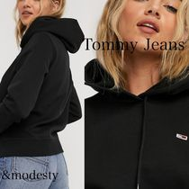 【Tommy Jeans】ロゴ パーカー フーディー ブラック