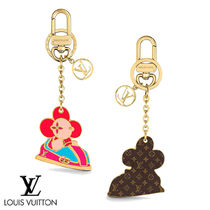 LOUIS VUITTON☆VIVIENNE FUNFAIR XMAS BAG CHARM AND KEYHOLDER