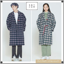 ROMANTIC CROWNのCLASSIC CHECK WOOL COAT 全2色