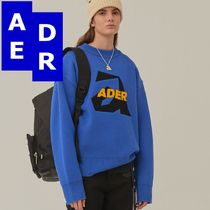 ★Adererror★Aspect knit BLUE
