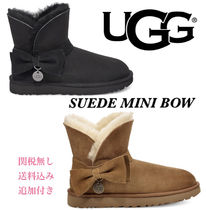 UGG SUEDE MINI BOW BOOT★アグ スエード ミニ ボウ/追跡付き