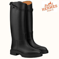 HERMES◆ VARIATION BOOTS BLACK◆