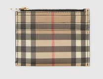 バーバリ★カードケースA compact card case in Vintage check