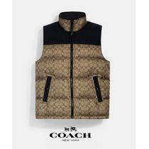日本未発売!【Coach】Signature Down Vest