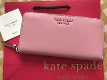 Kate Spade★Cameron Large Continental Wallet★ピンク色