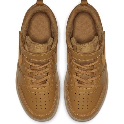 Nike キッズスニーカー ☆NIKE キッズ COURT BOROUGH LOW 2 (PSV)WHEAT 国内発送 正規品(2)