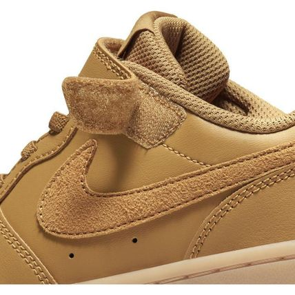 Nike キッズスニーカー ☆NIKE キッズ COURT BOROUGH LOW 2 (PSV)WHEAT 国内発送 正規品(3)
