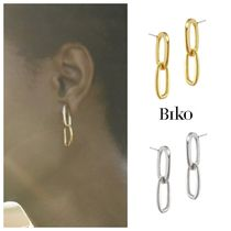 20AW新作【BIKO】Chainlink Studs★大人気リンクチェーンピアス