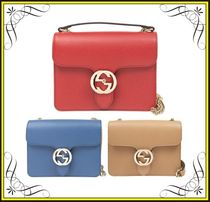【GUCCI】GGロック チェーンショルダーバッグ