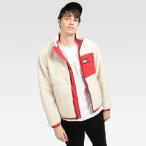 TOMMY JEANS リバーシブルシェルパジャケット