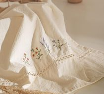 【DECO VIEW】Natural Flower Garden Embroidery Kitchen Cross