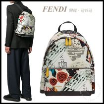 *FENDI*Karl Kollage Backpack 関税/送料込