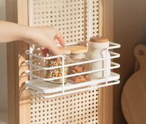 【DECO VIEW】White wood spice container organizer