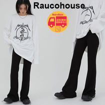 Raucohouse Tension bootcut casual pants BBN1659 追跡付