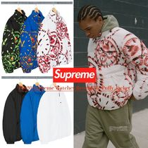 FW20 Supreme Watches Reversible Puffy Jacket