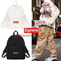 FW20 Supreme Canvas Backpack - キャンバス  バックパック