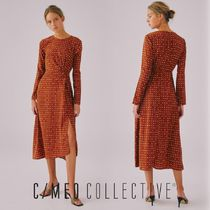 CAMEO COLLECTIVE カメオ ETHEREAL LS DRESS ドレス 長袖 ドット