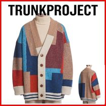 ◆TRUNK PROJECT◆日本未入荷◆Color Mixed Wool Cardigan◆