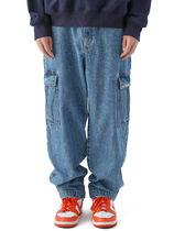 [thisisneverthat] Denim Cargo Pant Light Blue