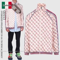 Gucci  OVERSIZED SWEATSHIRT IN GG TECHNICAL JERSEY