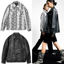 日本未入荷 [SAINTPAIN] SP Fleather Trucker Jacket
