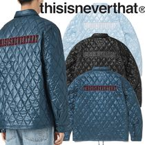★thisisneverthat★Quilted Coach Jacket 3色