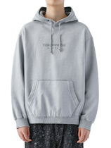 [thisisneverthat] L-Logo Hooded Sweatshirt Light Grey