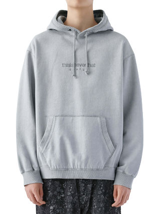 thisisneverthat パーカー・フーディ [thisisneverthat] L-Logo Hooded Sweatshirt Light Grey