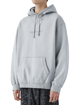 thisisneverthat パーカー・フーディ [thisisneverthat] L-Logo Hooded Sweatshirt Light Grey(2)