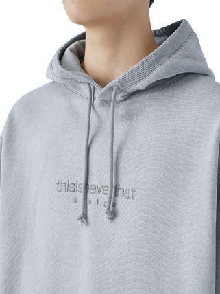 thisisneverthat パーカー・フーディ [thisisneverthat] L-Logo Hooded Sweatshirt Light Grey(3)