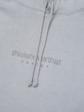 thisisneverthat パーカー・フーディ [thisisneverthat] L-Logo Hooded Sweatshirt Light Grey(7)