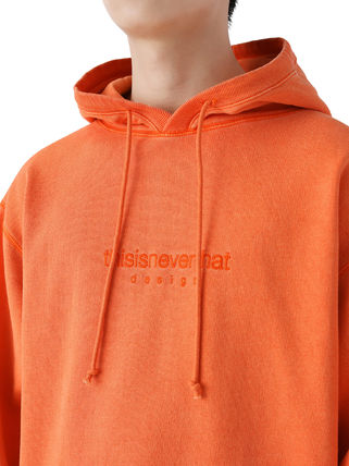 thisisneverthat パーカー・フーディ [thisisneverthat] L-Logo Hooded Sweatshirt Orange(2)