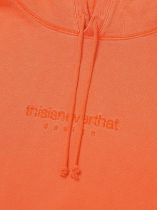 thisisneverthat パーカー・フーディ [thisisneverthat] L-Logo Hooded Sweatshirt Orange(7)